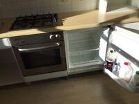 Integrated built under fridge