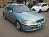Honda Civic 1.6 Vtec manual 5 door saloon (low mileage+ immaculate condition)