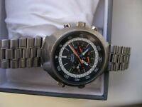 Omega Flightmaster manual chronograph wristwatch - ST 145-036 Cal 911 - 1969-'77