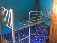 Metal sturdy bunk beds (ikea) SOLD