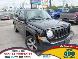 2016 Jeep Patriot HIGH ALTITUDE   LEATHER   SUNROOF   4X4   BT