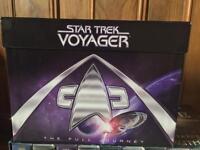 Star Trek Voyager TheFull Journey DVDs series 1-7