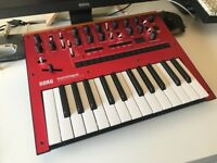 Korg Monologue Synthesiser (red)