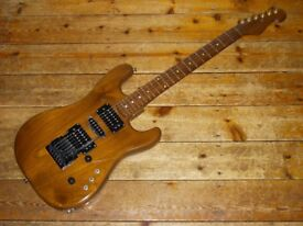 Custom Walnut / Rosewood S type guitar with Kahler USA tremolo
