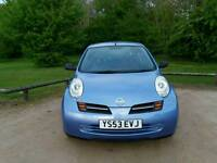 NISSAN MICRA 1.2L 2OWNERS 15SERVICES MOT TILL 06/10/2017 WARRANTED MILES EXCELLENT CONDITION