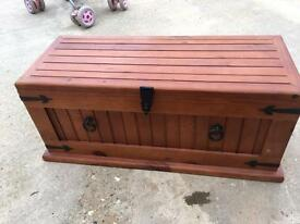 Solid wood chest set NEW