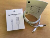 WHOLESALE JOBLOT BULK Apple Iphone Lightning to USB 1m 2m Cables MD818ZM/A & More