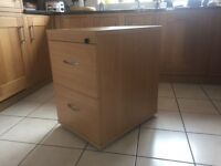 Two draw filing cabinet in mint condition.