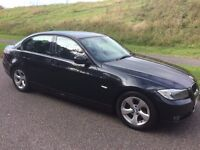 2010 BMW 320D EFFICIENTDYNAMICS 1 OWNER 114K WITH F/M/D/S/H AA ASSURED IN MINT CONDITION