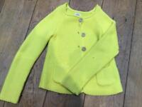 Mini Boden yellow cardigan Aged 7-8 Worn Once