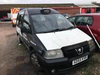 2005 Peugeot E7 TAXI - NO PLATING - EXPORT - SPARES OR REPAIR