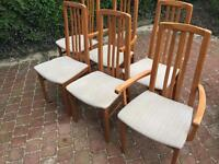 Six Dining Room Chair Set