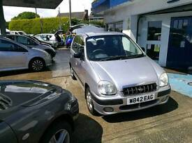 Automatic Hyundai Amica 999cc 5 dr 83k FullMOT+Cambelt+Service+Warranty all included est1985