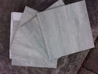 Floor / Wall Tiles . Half Price ! . 300 X 300 . Marbled Grey . Brand New & Boxed . Bath / Kitchen