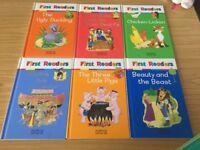x 20 M&S First Reader books