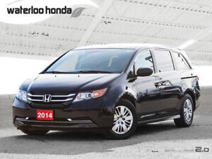 2014 Honda Odyssey LX Bluetooth, Back Up Camera, 7 Passenger...