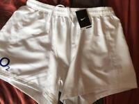 England rugby shorts size XL BNWT