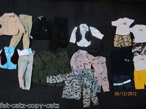 1-x-KEN-ACTION-MAN-GI-JOE-DOLLS-CLOTHES-OUTFITS-TROUSERS-SHIRT-SHORTS-SUIT-SETS