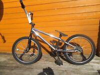 chrome Haro bmx bike