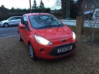 2014 FORD KA EDGE CAT D REPAIRED 26,000 MILES F/S/H GREAT MPG £30 ROAD TAX EXCELLENT CONDITION