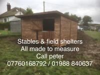 Stable & field shelters