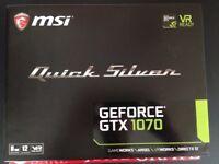 MSI GTX 1070 Quick Silver Edition