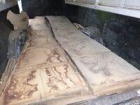 Oak Boards, Seasoned Joinery timber, 20 years air dried, Walnut boards etc.