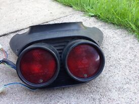 Aprillia SR 50/125 rear light unit