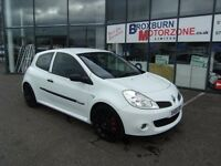 2008 08 RENAULT CLIO 2.0 RENAULTSPORT 197 CUP VVT 3d 195 BHP *** GUARANTEED FINANCE ***
