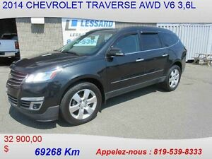 2014 CHEVROLET TRAVERSE AWD LTZ