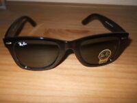 New sunglassess retro ray ban black will post