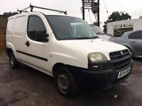 FIAT DOBLO 1.9 D HIGH TOP VAN 2004 12 MONTHS MOT!!!