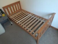 Single Bed and Mattress (used) - Pine WRONG MEASUREMENTS IN ORIGINAL AD