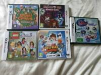 Nintendo DS games (boxed)