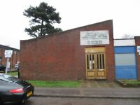 WORKSHOP/WAREHOUSE, TO LET SHORT TERM, HENDON, NW4