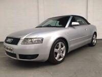2004 AUDI A4 CABRIOLET 1.8T AUTO *** LONG MOT ***
