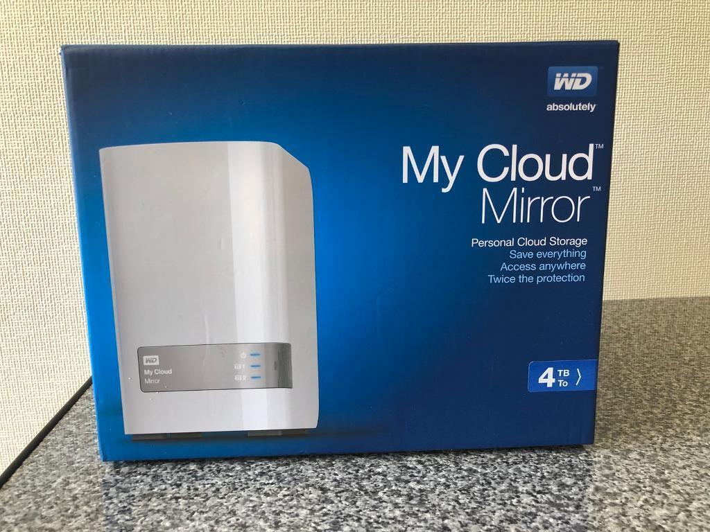 WD MyCloud Mirror 4TB NAS Storage | in Fareham, Hampshire | Gumtree