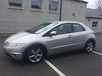 07 HONDA CIVIC DIESEL SE I-CTDI HATCHBACK*NEW MODEL*FULL MOT!BARGAIN!focus,astra,corsa,vw,audi,bmw