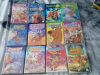 30 SCOOBY DVDS