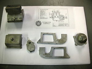 Bob Shores Silver Bullet Model Casting Kit with Engine Drawings / Builders Hints