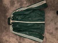 Classic Retro Adidas Jacket Mens Size Small