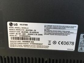 42 inch LG television