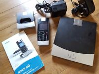 Snom M3 cordless VoIP/SIP/Asterisk phone £30
