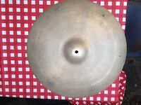 "Vintage 18"" Zildjian Avedis Jazz Cymbal w/rivets"