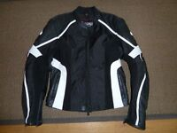 Leather biker jacket Helmet Gloves Trousers and Boots only worn a few times as New