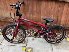 BMX Bike, excellent condition.