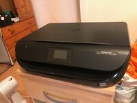 HP Envy 4523 Printer w/ New Black Ink Cartridge - Barely Used & Recently Purchased