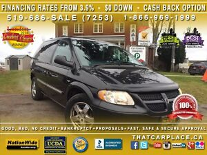 2004 Dodge Caravan SE-SOLD AS IS-Tint-Cruise-LowPrice-AC/Heat-CD