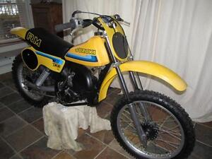 wanted Suzuki RM's part or complete