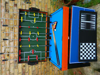 Multi Games Tablewith Pool, Table football etc